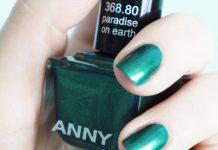 """paradise on earth"" nail polish by ANNY (368.80) - X-MAS UNDER PALMS (2012)"