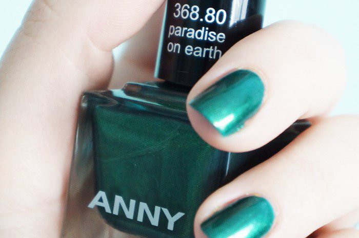 """paradise on earth"" nail polish by ANNY (368.80) - X-MAS UNDER PALMS (2012)"
