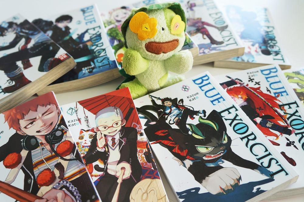 Ao no Exorcist Manga & Nii-chan