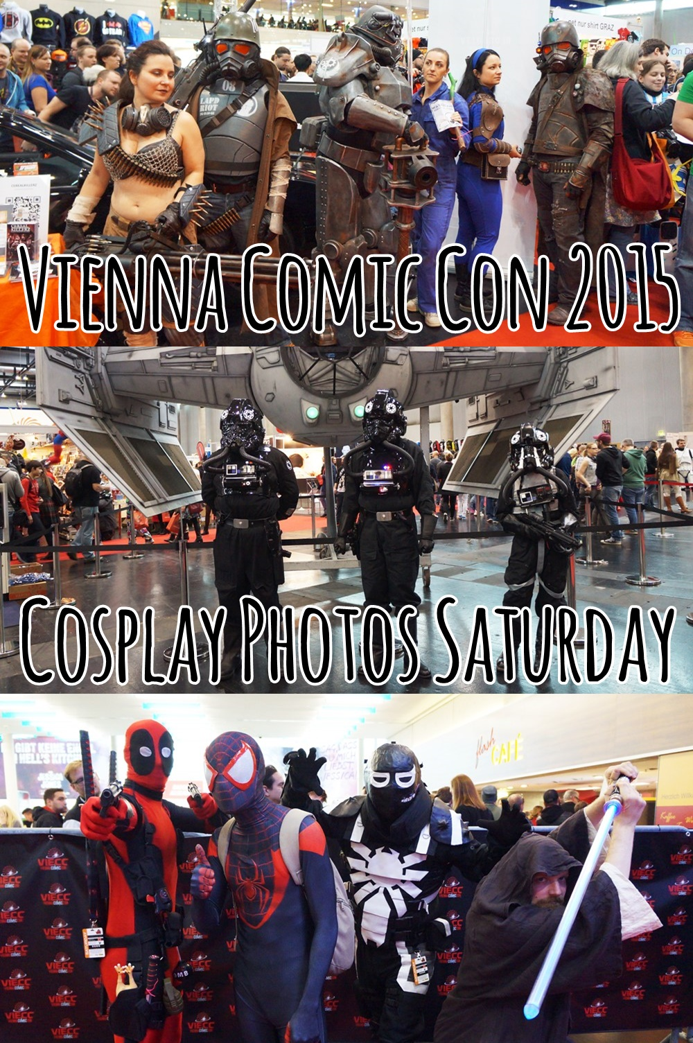 Vienna Comic Con - Cosplay Photos Saturday