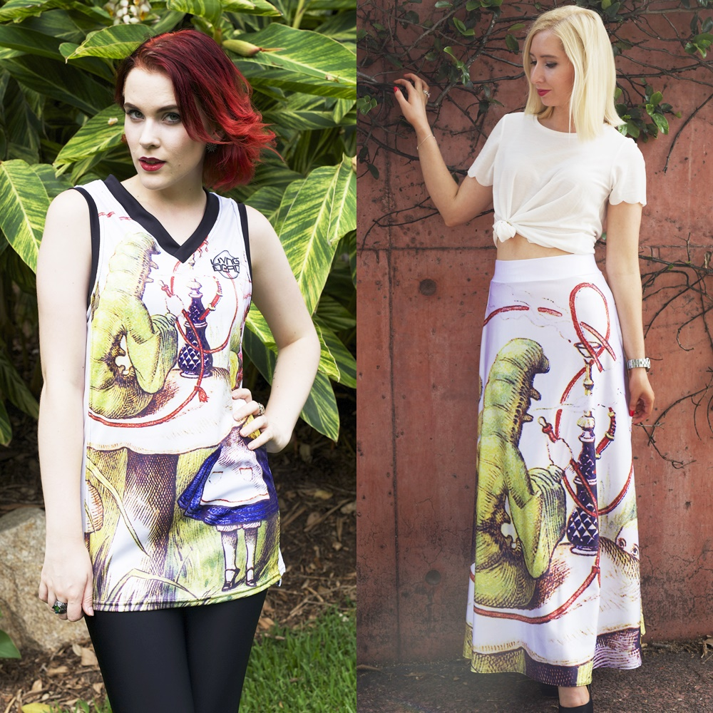 The Caterpillar Rainmaker & The Caterpillar Maxi Skirt