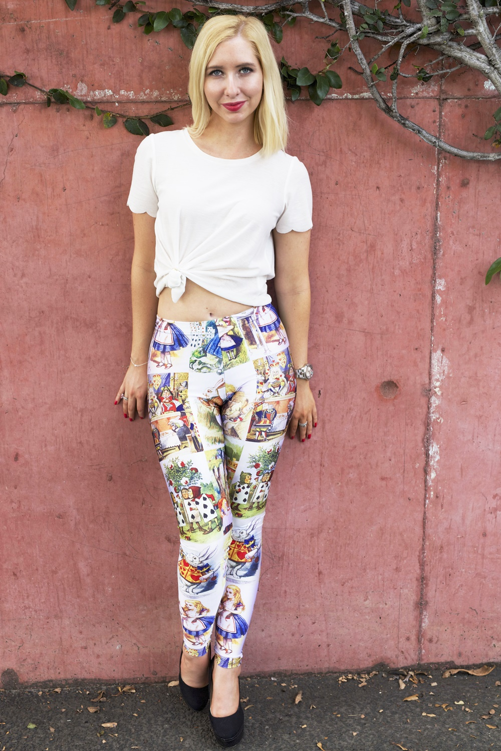 Adventures In Wonderland Leggings