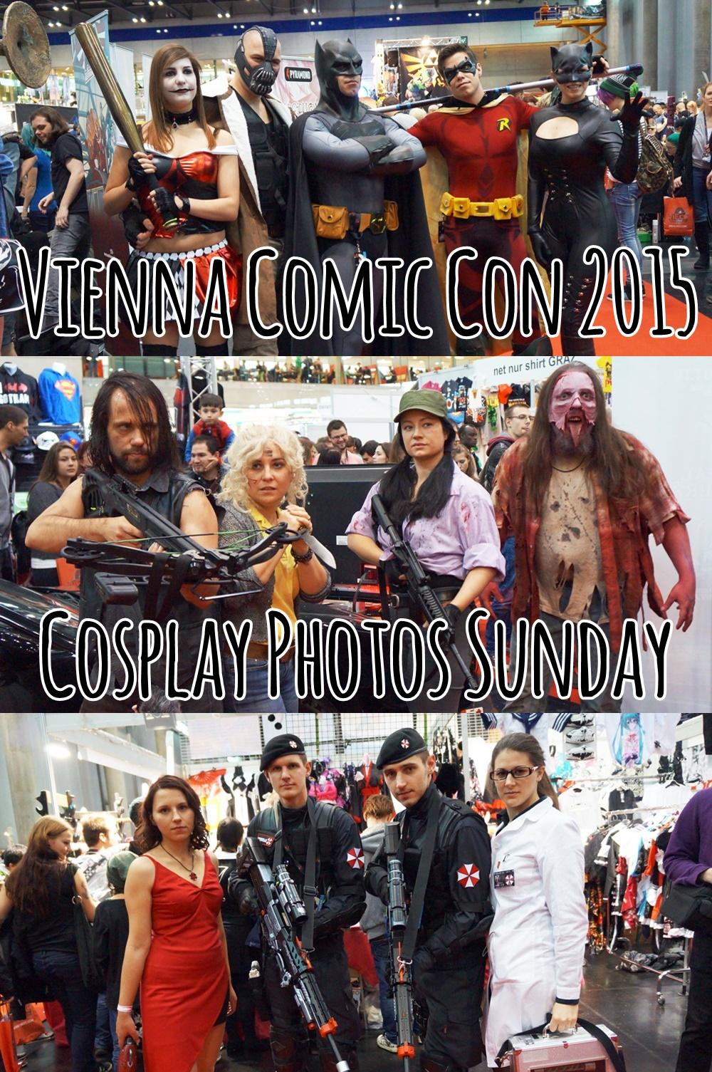 Vienna Comic Con 2015 - Cosplay Photos Sunday