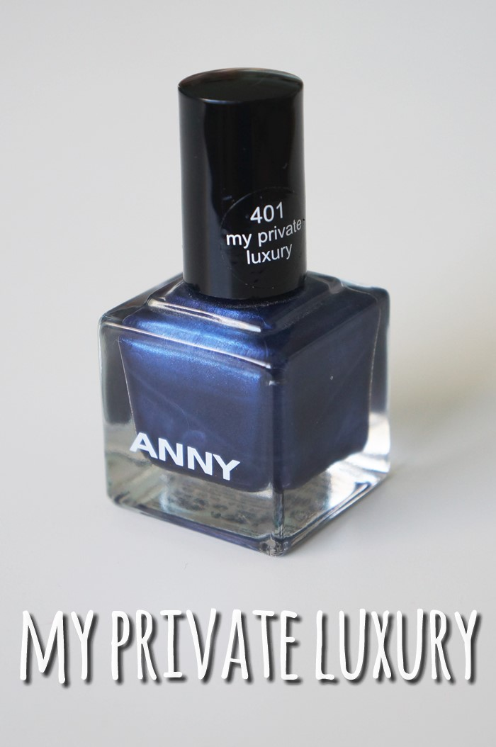 """my private luxury"" nail polish by ANNY (401)"