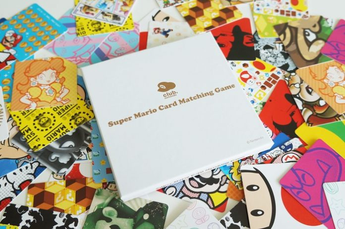 Club Nintendo - Super Mario Card Matching Game