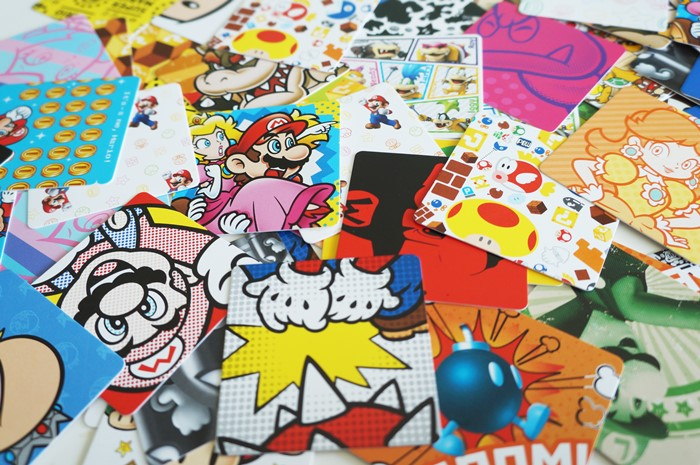 Club Nintendo - Super Mario Card Matching Game