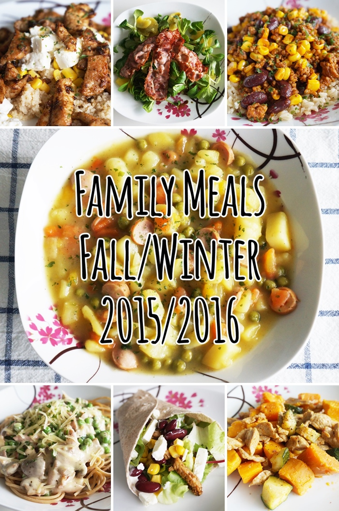 Family Meals - Fall/Winter 2015/2016