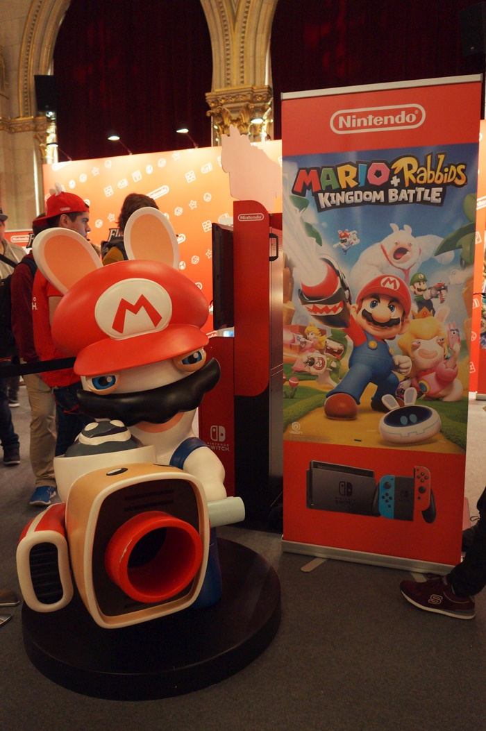 Game City 2017 - Mario + Rabbids Kingdom Battle