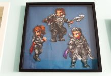 Kingsglaive: Final Fantasy XV - Beads Art