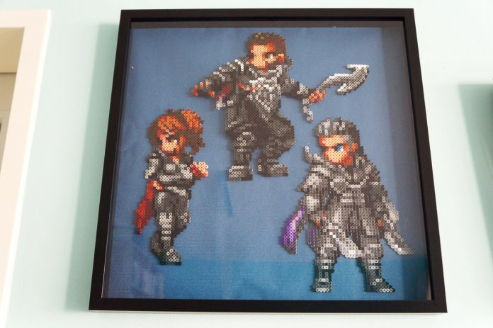 Kingsglaive: Final Fantasy XV - Beads Art