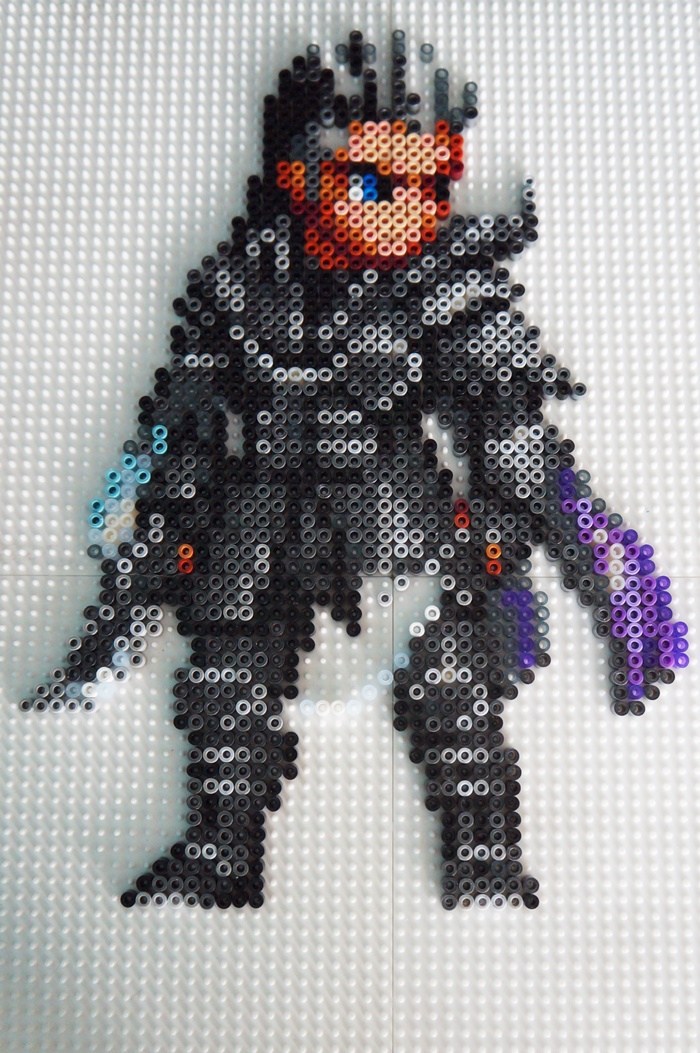 Kingsglaive: Final Fantasy XV - Beads Art - Nyx finished