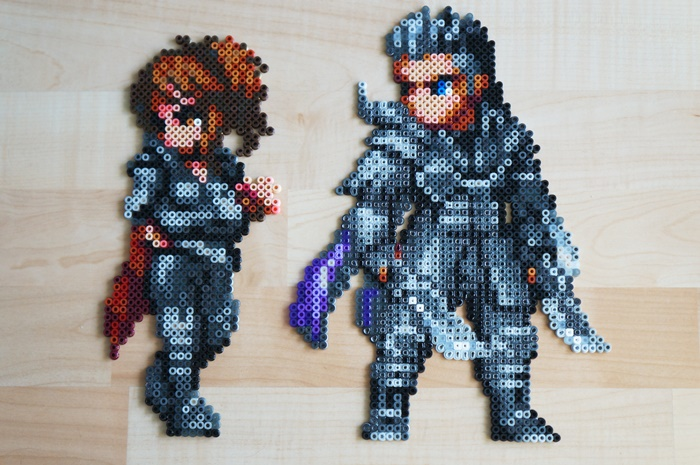 Kingsglaive: Final Fantasy XV - Beads Art - Nyx & Crowe