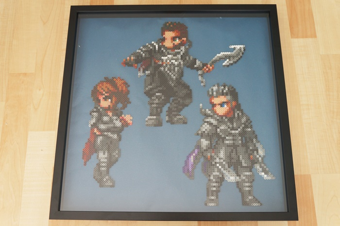 Kingsglaive: Final Fantasy XV - Beads Art - framed